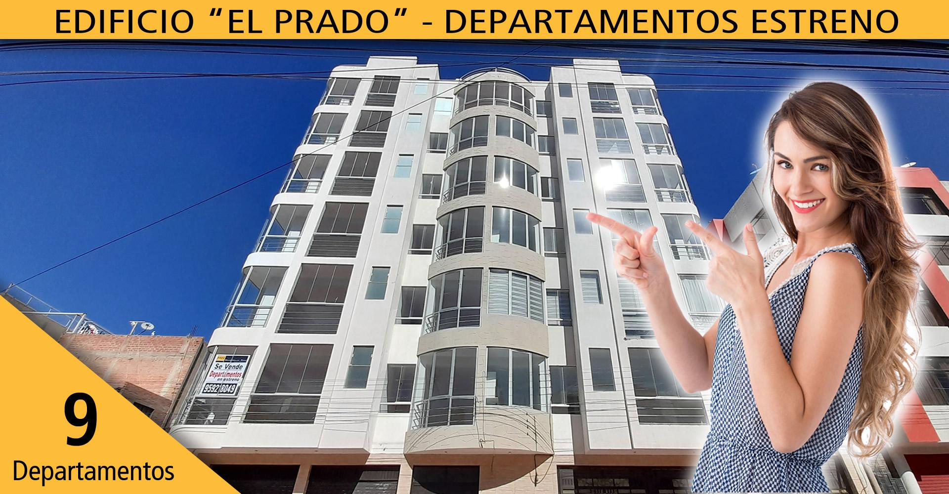 El Prado – departamentos de 85m2 y 100m2 c/cochera