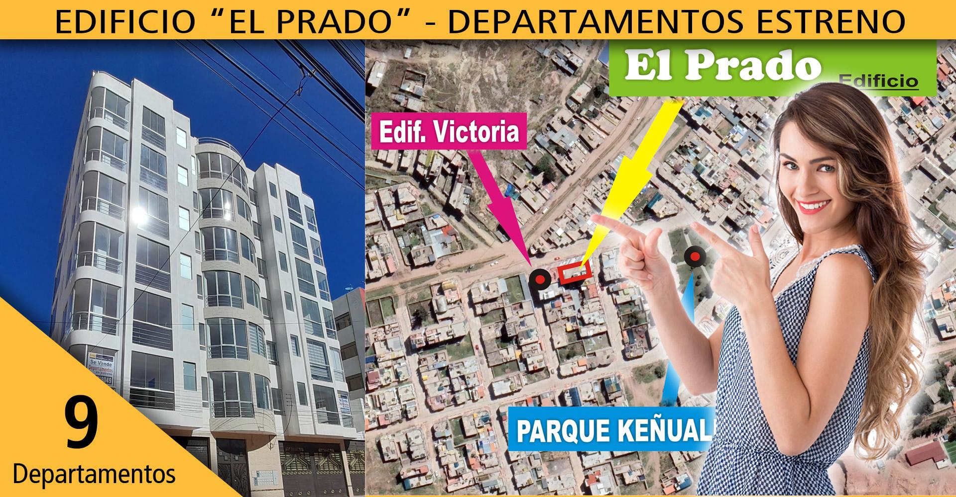 El Prado – departamentos estreno de 85m2 y 100m2 c/cochera